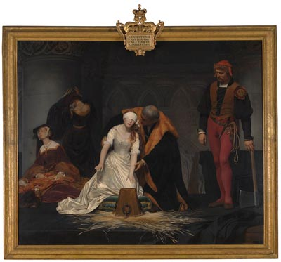 The Execution of Lady Jane Grey - credit National Gallery